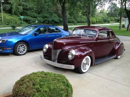 1940 ford deluxe 40 ford chopped kustom coupe reduced 59995 obo for sale. Black Bedroom Furniture Sets. Home Design Ideas