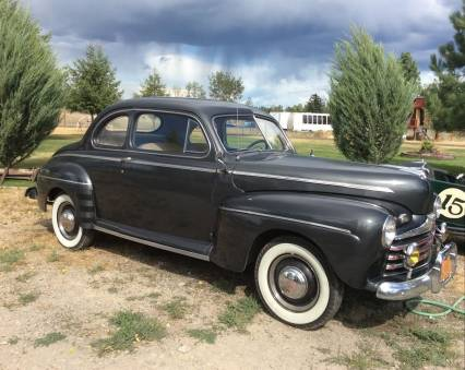 This 1946 Ford Super Delux Coupe is a true survivo