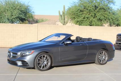 2019 mercedes s560s convertible amg 153000 new