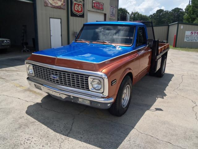 1972 Chevrolet C20 1972 Chevy Truck With Dually Flatbed