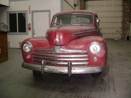 1948 Ford Super Deluex Coupe price lowered