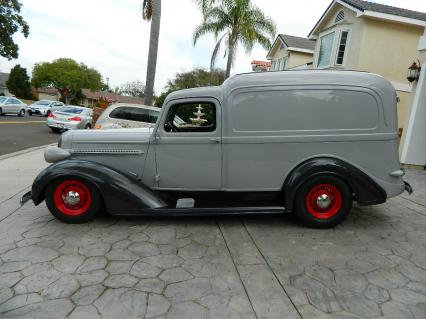 1936 Dodge Rare Hump Top Panel Delivery