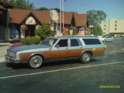 1985 OLDSMOBILE CUSTOM CRUISER WAGON