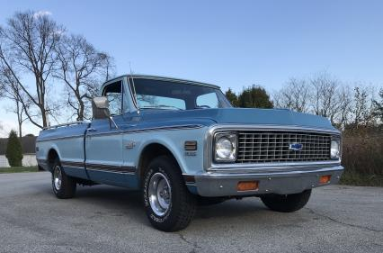 1972 Chevrolet Cheyenne Super P/U One Owner