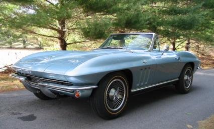 1966 Corvette 2 Top Roadster 327-350 Number  Match