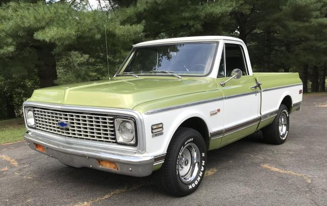 1971 chevy c10 long bed value