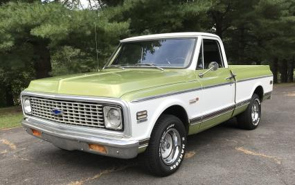 1971 Chevy Cheyenne Super Short Bed Loaded P/U