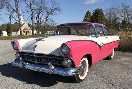 1955 Ford Fairlane Crown Victoria Body Off Restora
