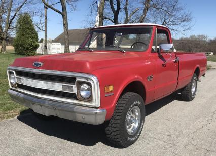 1970 Chevy K-10 4X4 350 V8 Manual Trans