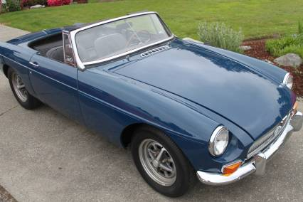 1967 MGB Roadster - With Hardtop Drive Anywhere