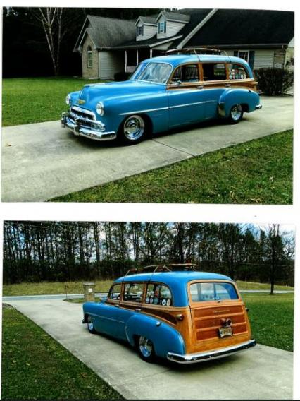 TIN WOODY WAGON