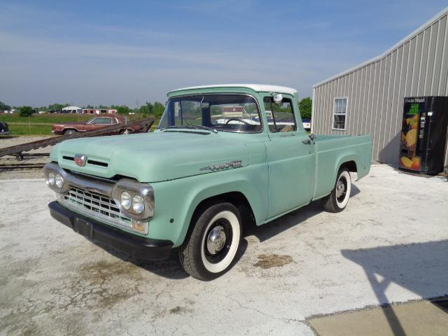 1960 Ford F1 1960 Ford F100 Short Bed Styleside Pu For