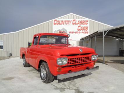 1958 Ford F100 Short Bed  Street Rod PU
