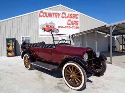 1922 Studebaker Model EJ light Six touring conv