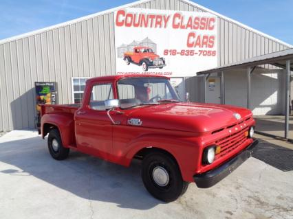 1963 Ford F100 Short bed flare side pick up