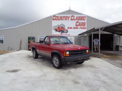 1989 Dodge Dakota Sport conv PU