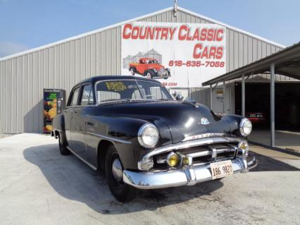 1951 Plymouth Cranbrook 4dr sedan