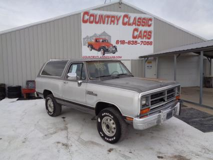 1989 Dodge Ram Charger 4x4