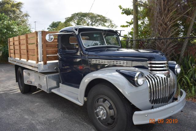 1946 Chevrolet Truck 1946 Chevy Stake Bed For Sale Oldride Com
