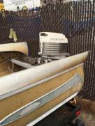 1960 FeatherCraft  Aluminum w/FINS (PRICE REDUCED)
