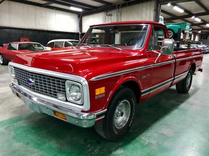 1972 Chevrolet C10 Pickup 350 Automatic