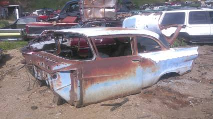 57 ford 2dr sedan vintage stock car body