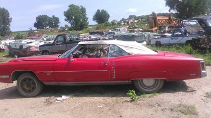 71 eldorado convert no titleparting out or whole