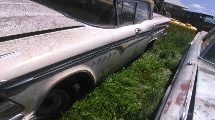 59 edsel 4dr sedan no title will part out