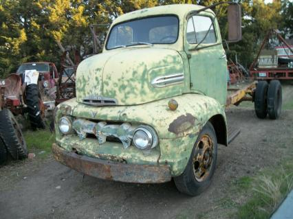 1951 Ford COE cabover F5 truck rat street  rod
