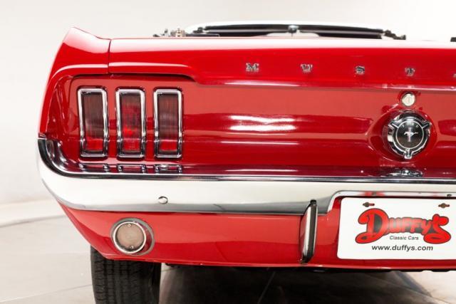 1967 Mustang Rangoon Red