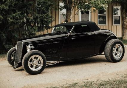 1933 Ford Roadster Speed 33 Only 400 Miles