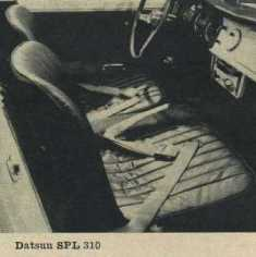 1962 Datsun Bucket Seats