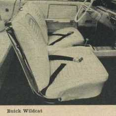 1962 Buick Wildcat Bucket Seats