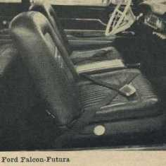 1962 Ford Falcon-Futura Bucket Seats