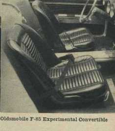 1962 Oldsmobile F-85 Bucket Seats