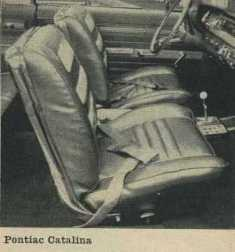 1962 Pontiac Catalina Bucket Seats