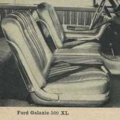 1962 Ford Galaxie 500 XL Bucket Seats