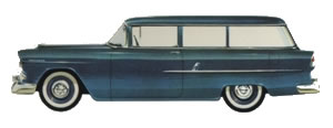 1955 Chevrolet 210 Handyman Station Wagon