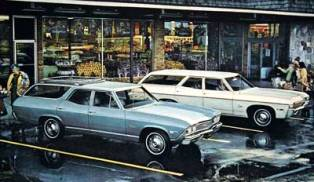 1968 Chevrolet Malibu Station Wagon
