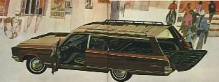 1966 Chrysler Town & Country Station Wagon