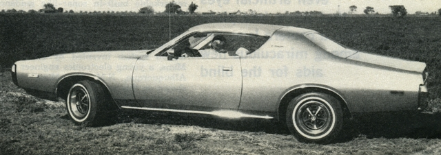 1972 dodge charger se specifications