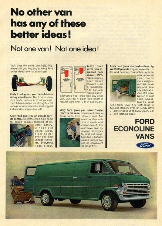 1969 Ford Econoline Adver
