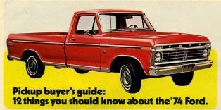 1974 ford f100 explorer