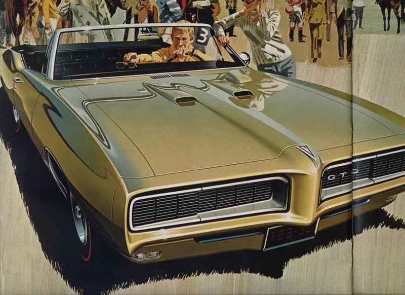 1968 Pontiac Gto Convertible Photograph by David Patterson