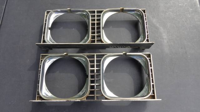 1973 Impala Headlight Bezels