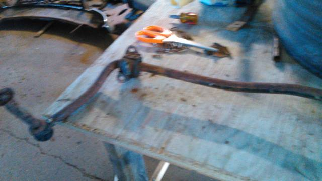58-64 chevy car used v-8 front sway bar.