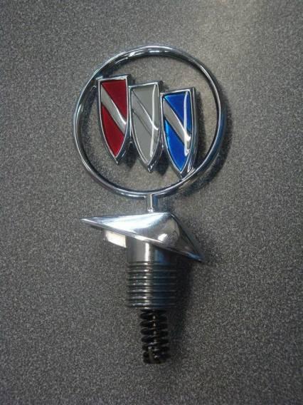 New Buick LeSabre Hood Ornament Emblem NOS