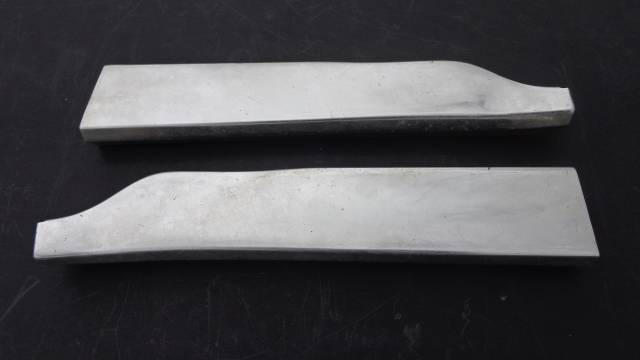 1960 Impala Lower Grille Molding Extensions