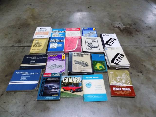 MANUALS AND CAR BOOKS