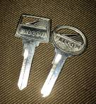1965 Falcon key blank set pair